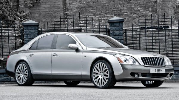 A. Kahn Design presents a custom Maybach 57 6.0 S to mark the 60th anniversary of the Queen's coronation