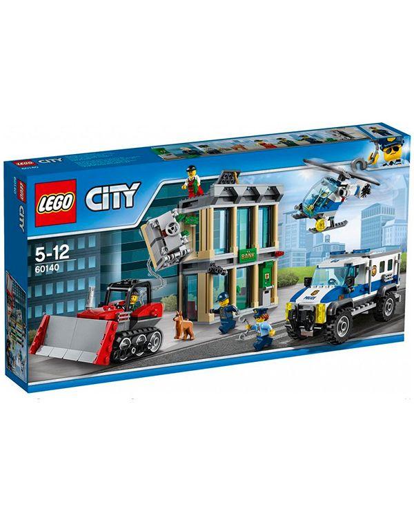 Lego City 60140 Ограбление на бульдозере
