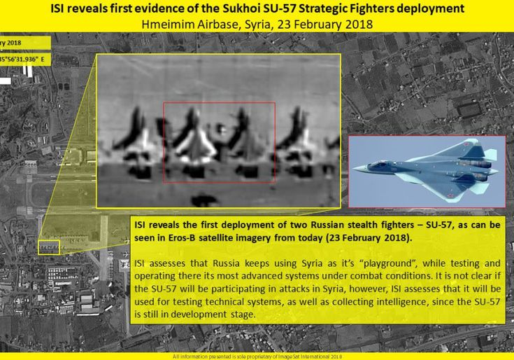 Stealth Russian fighter jets deployed to Syria - Middle East - Jerusalem Post