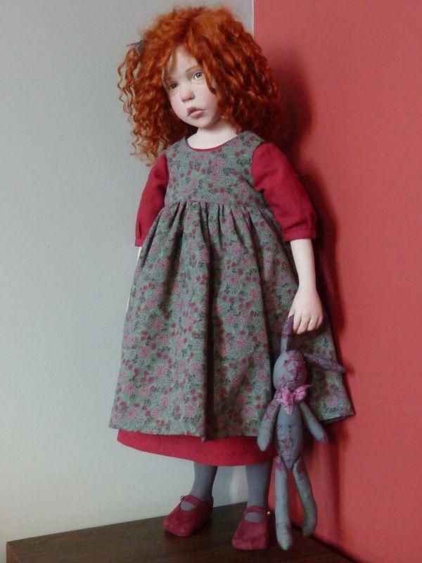 The hyper-realist artist dolls Laurence Ruet