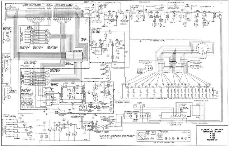 Hammond Organ Schematic