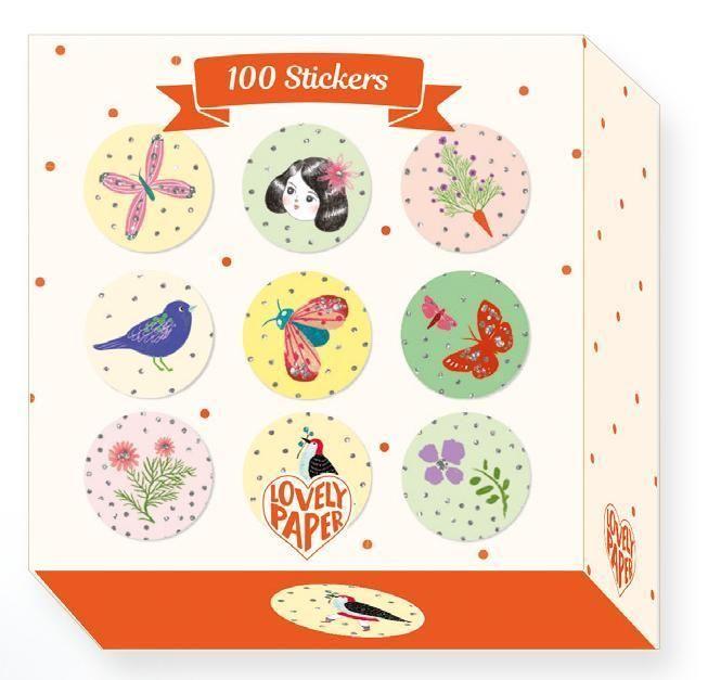 Sticker Meerjungfrauen 160 Stueck Djeco