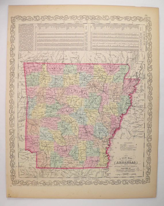 The Best Map Of Arkansas Ideas On Pinterest State Parks - A map of arkansas