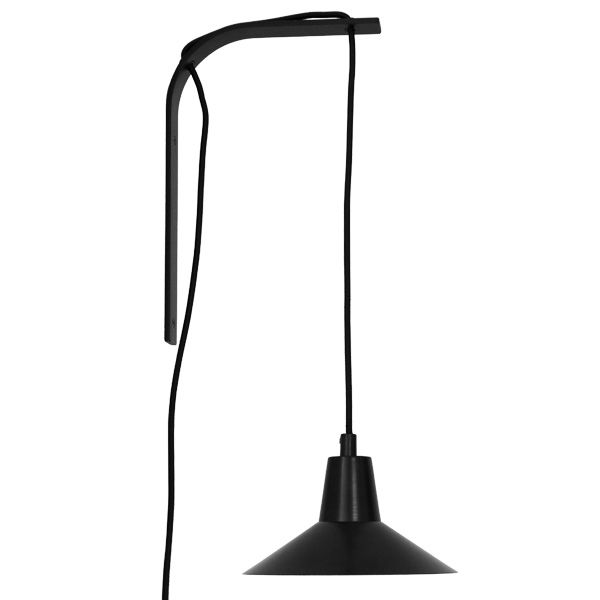 Edit wall lamp, black-black