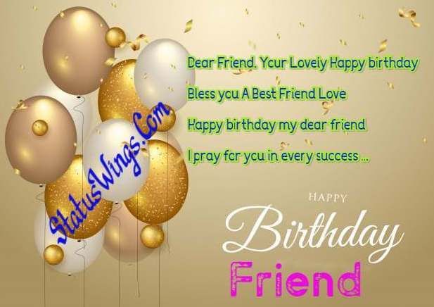 Happy Birthday Wishes For Best Friend Quotes Shayari Messages Friend Birthday Quotes Best Friend Quotes Birthday Wishes