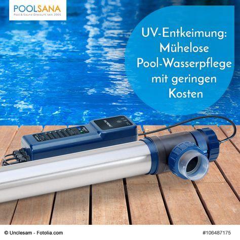 UV-Entkeimung Mühelose Pool-Wasserpflege mit geringen Kosten - kosten pool im garten