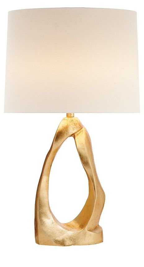 """gold"" gold table lamp  link: InStyle-Decor.com"