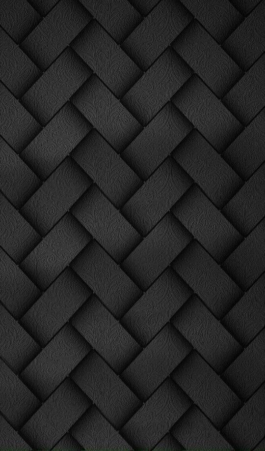 BLACK WOVEN FABRIC TEXTURE IPhone wallpaper Black phone