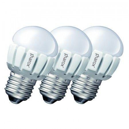 3er-Set Pharox LED 200 P45 #E27 #5W #230V Diese sehr schöne #E27 #LED ist der perfekte Ersatz für herkömmliche #Leuchtmittel