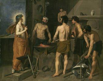 """""""La fragua de Vulcano"""", Velázquez, hacia 1630"""