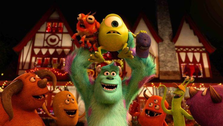 """15. """"Die Monster Uni"""" (2013): Tatsächlich, Pixar kann auch Prequel! """"Die Monster Uni"""" ist ein hübsches Lehrstück in Sachen Universitäts- und College-Satire, bleibt aber wegen so mancher Albernheiten weit hinter dem Vorgänger zurück."""