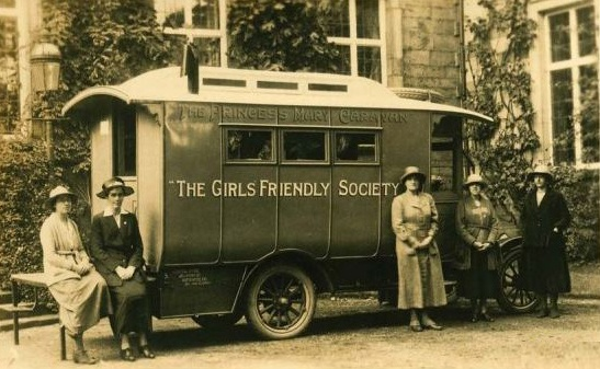 The Girls Friendly Society was founded in England in 1875 and Princess Mary
