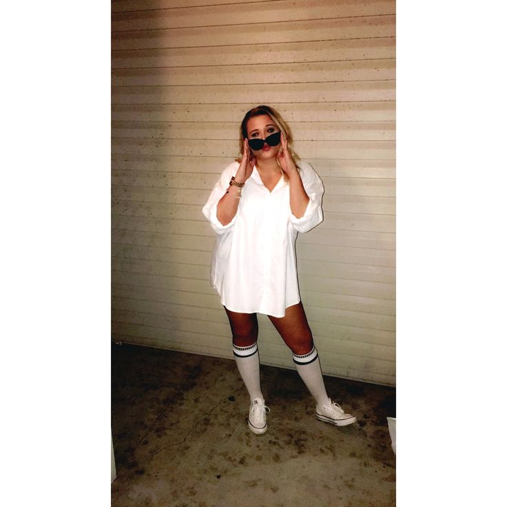 Risky Business Halloween costume!