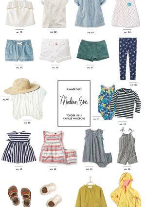 Summer Capsule Wardrobe for Toddler Girls