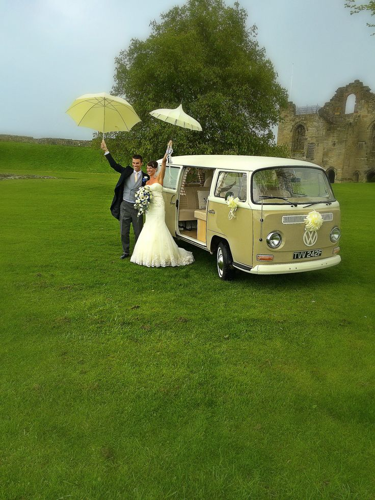 April showers don't stop a great wedding