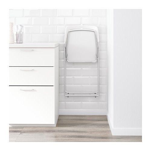 НИССЕ Стул складной IKEA Стул можно сложить, что позволяет экономить место при хранении.