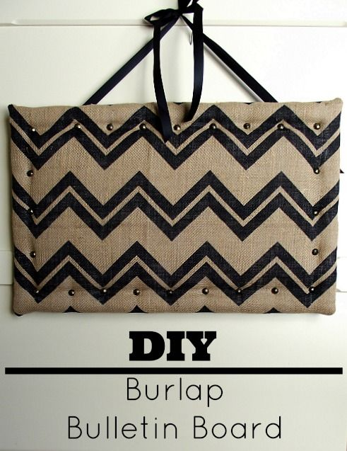 Make this DIY Burlap Bulletin Board for your home or office using inexpensive materials and add some flare to your walls! This DIY bulletin board is easy...