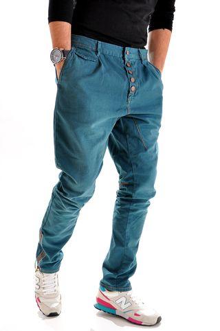 Pantaloni handmade pentru barbati P3273Y, marca Different Cut