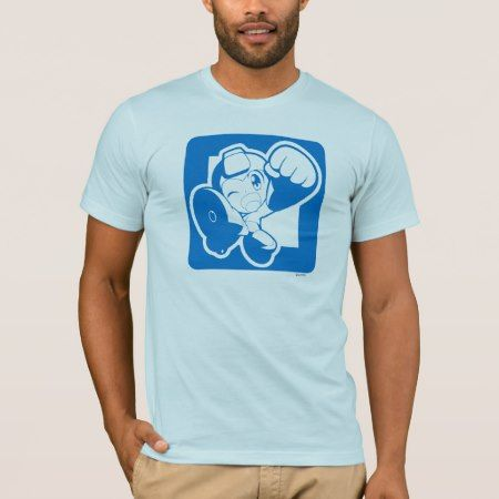 Blue Punch T-Shirt - click/tap to personalize and buy
