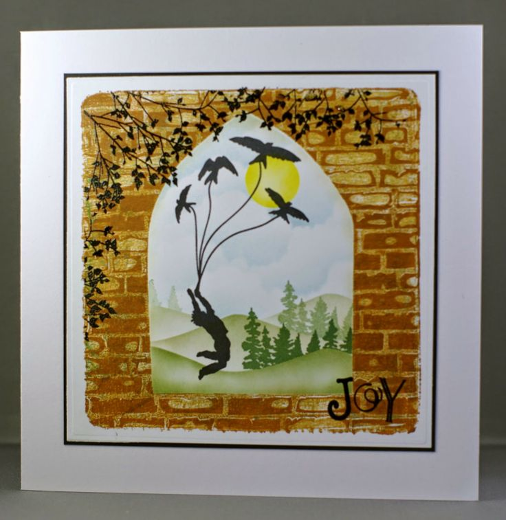 Lynne's Crafty Little Blog: Through The Arched Window - Boy and Girl Versions