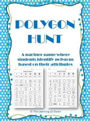 Polygons An Attributes Game From Thelearninglodown On