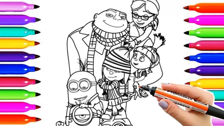 17 Mejores Ideas Sobre Dibujos Para Colorear Minions En