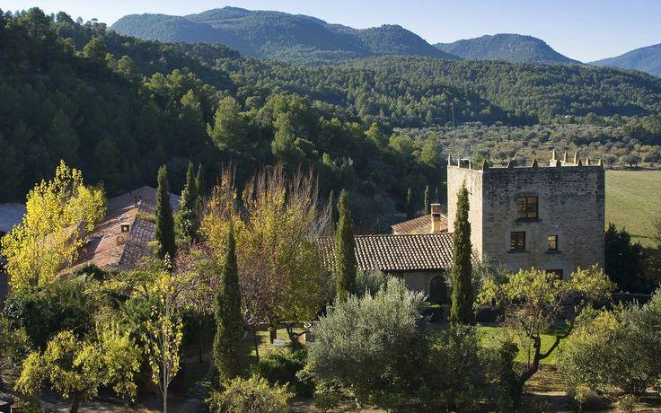 La Torre del Visco, Hotel de lujo y Restaurante gourmet en el campo Fuentespalda – Relais & Châteaux