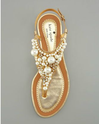 pearl sandals :)