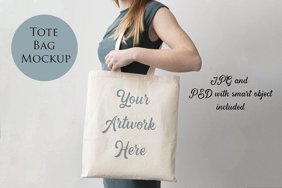 Woman Holding Tote Bag Mockup Bag Mockup Psd Mockup Template Business Card Mock Up