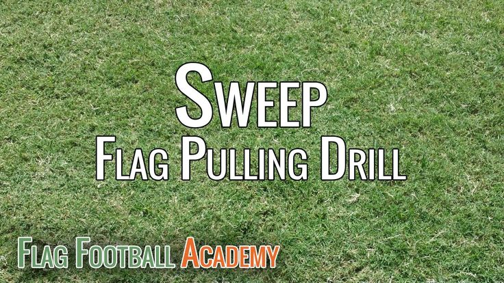 Flag pulling drill that I use almost every practice