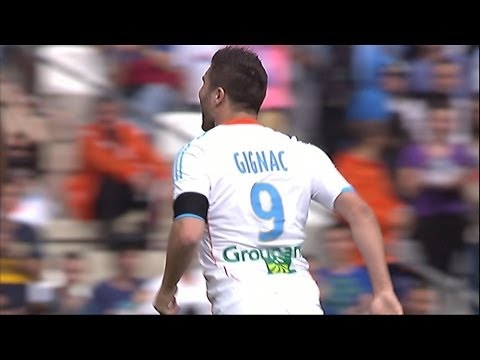 FOOTBALL -  But André-Pierre GIGNAC (12') - Olympique de Marseille - SC Bastia (2-1) - http://lefootball.fr/but-andre-pierre-gignac-12-olympique-de-marseille-sc-bastia-2-1/