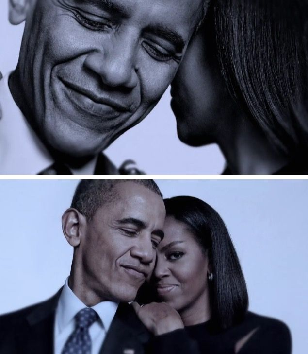 44th President Of The United States Of America Barack and First Lady Michelle Obama