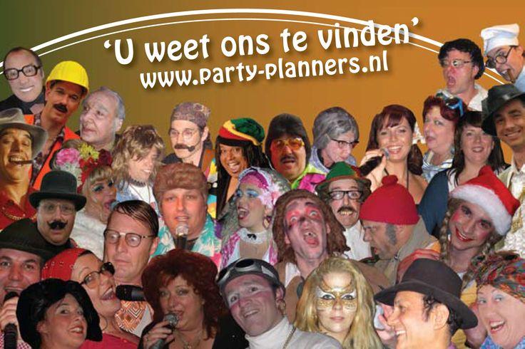 Bedrijfsfeest, familiefeest, uitje met de vereniging, teamuitstapje, vrijgezellenfeest. Voor reserveringen, bel Party Planners Achterveld: 0342 - 450503 www.party-planners.nl