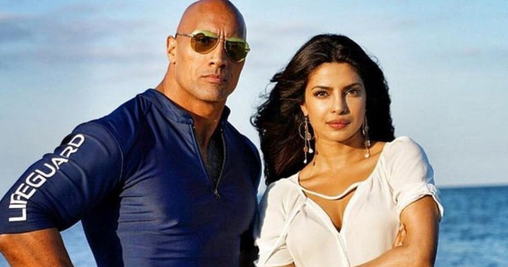 Baywatch International Trailer: The Rock Vs. Priyanka Chopra -- A team of lifeguards investigate the influx of drugs and murder at their once-peaceful beach in new international trailers for Baywatch. -- http://movieweb.com/baywatch-movie-trailer-international-red-band/