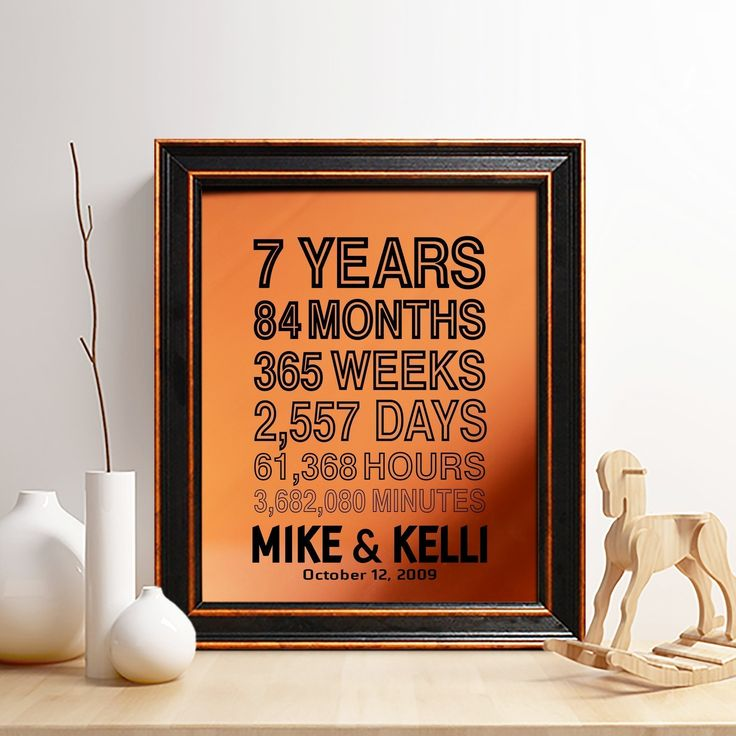 1000 ideas about 7 year anniversary gift on pinterest 7