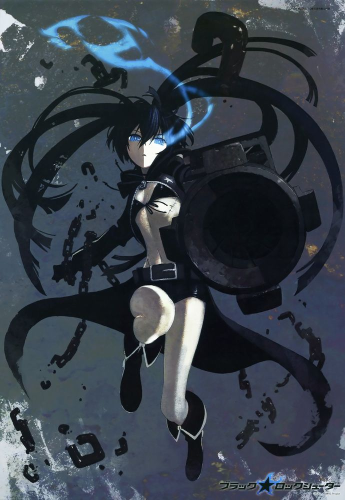 Black ★ Rock Shooter #anime