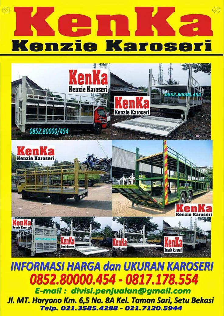 KAROSERI TRUCK BAK BESI LIFT GATE ANGKUTAN MOTOR >> KAROSERI KENKA