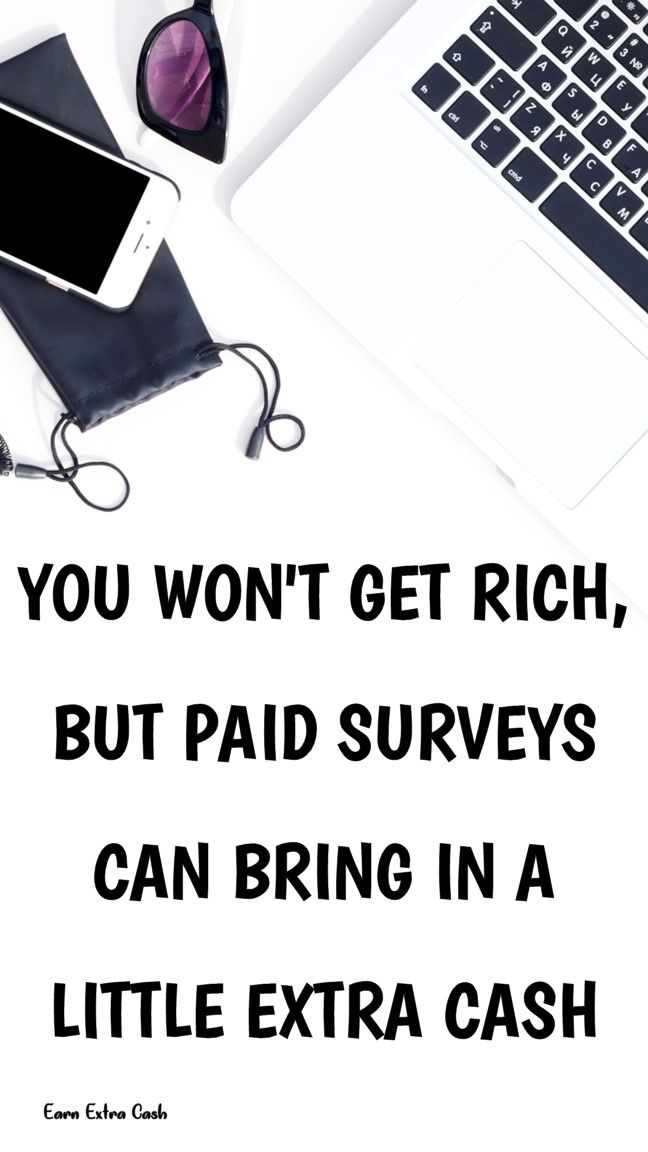 You Won't Get Rich, But Paid Surveys Can Bring In …