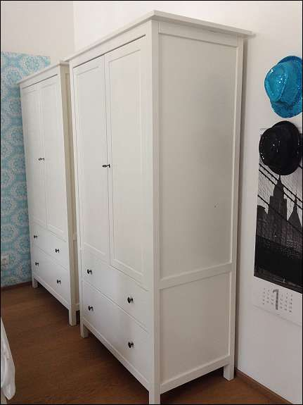ikea hemnes schrank. Black Bedroom Furniture Sets. Home Design Ideas