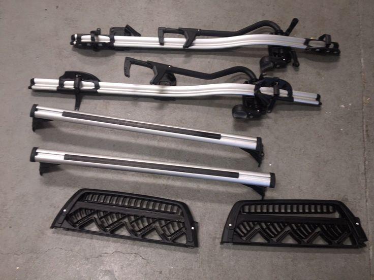 BMW 3 Series OEM E46 Roof Rack System / Bike racks/ Skis/ Snowboard   eBay