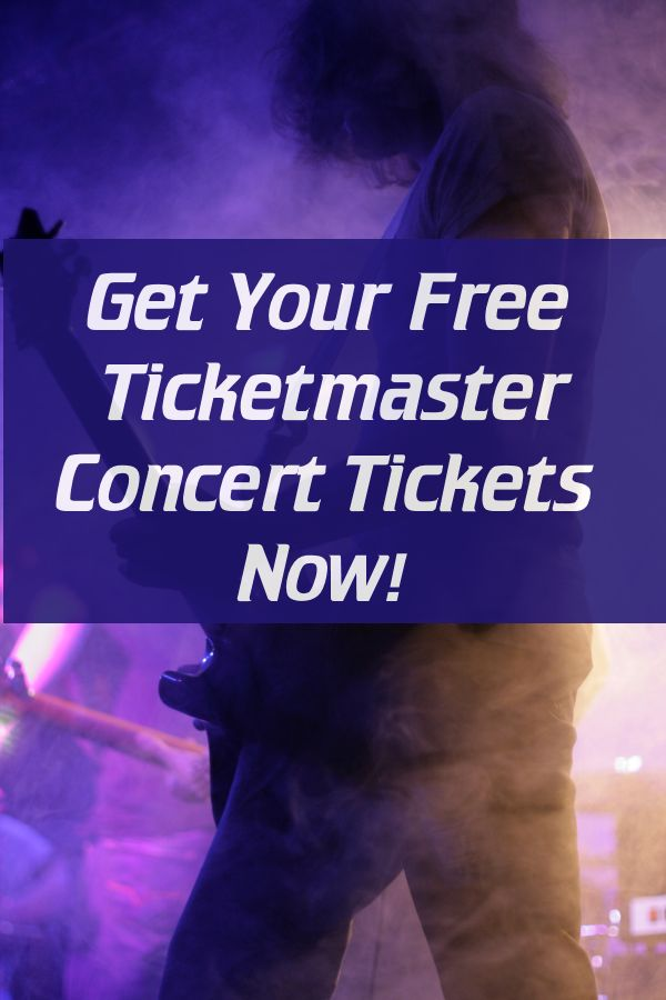 Drop Everything - Get Your Free Concert Tickets Now! Ticketmaster Class Action Lawsuit Settlement.