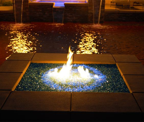 unlike wood fire glass is a clean burning product that doesnu0027t give off