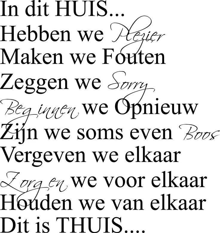 Thuis....