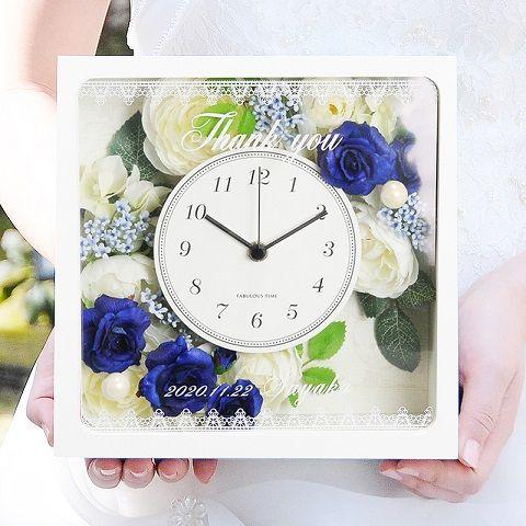 (12月挙式の方)ブルーナ花時計 ご両親へのプレゼント  http://www.farbeco.jp/parents.html