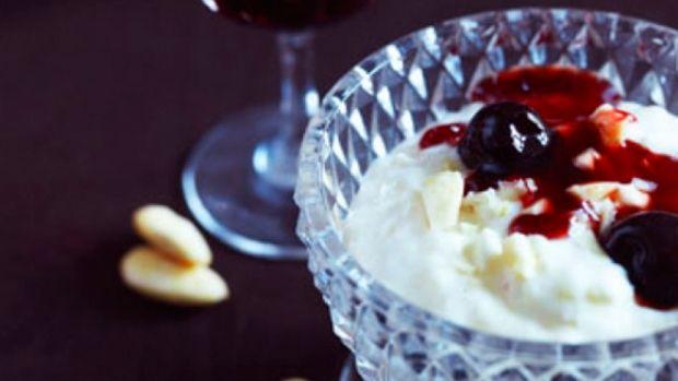 Risalamande med hjemmelavet kirsebærsauce   Femina