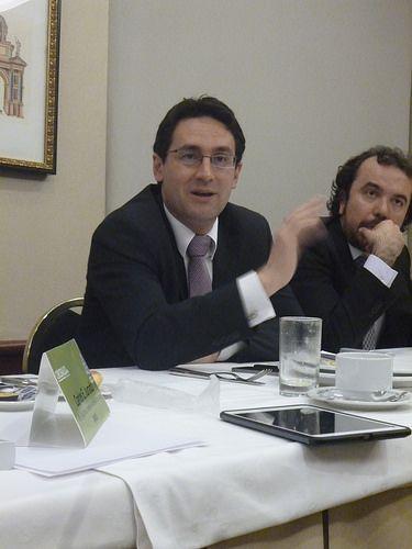 Camilo Enciso, Secretario por la Transparencia y Daniel García, asesor de la Secretaria de Transparencia de la Republica, participaron de Diálogos de Futuro.