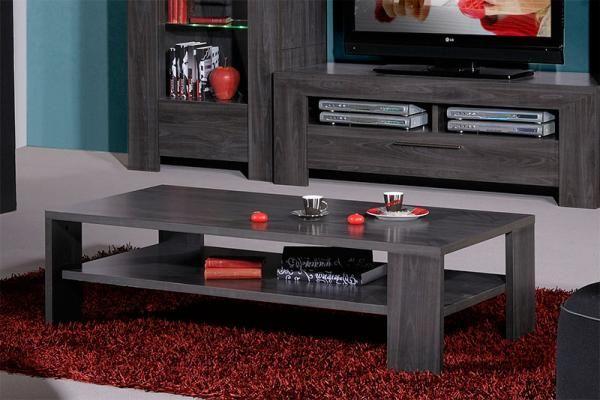 Sciae Lucena Contemporary Dark Grey Coffee Table