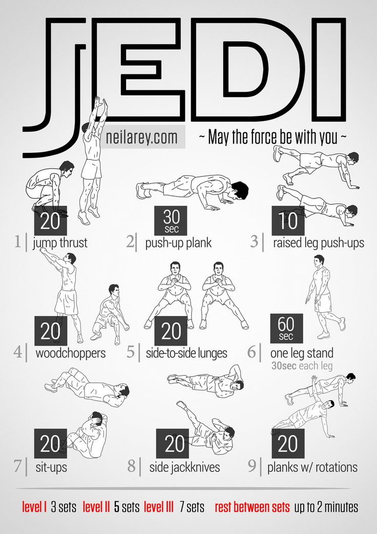 I'm all about having Jedi skills! Let's do this workout then control peoples minds ;)