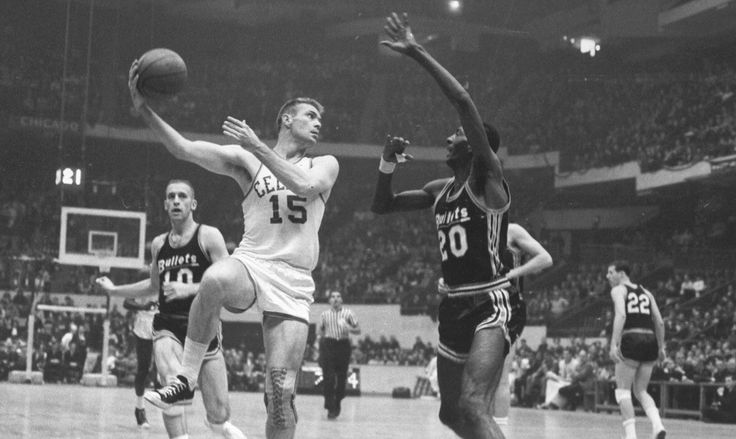 On this day in 1957 (60 years ago), #Celtics won their first of 17 #NBA Championships and Tommy Heinsohn was Rookie of the Year that season!