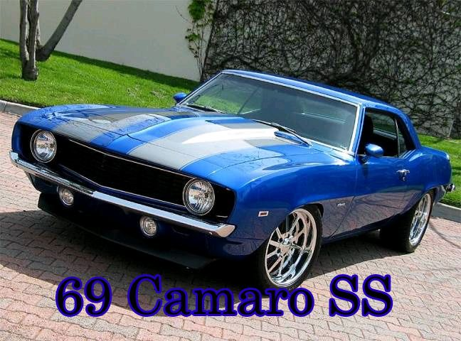muscle cars blue camaro white stripe 60s muscle cars. Black Bedroom Furniture Sets. Home Design Ideas